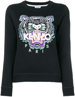 Kenzo Tiger embroidered sweatshirt