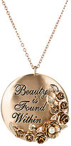 Disney Beauty and the Beast Necklace with Pendant by Danielle Nicole - Live Action Film