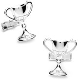 Ravi Ratan Sterling Trophy Cufflinks.