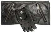 Black Faithful Glove Clutch