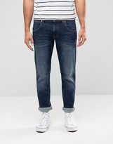 Wrangler Low Rise Slim Leg Jean In Burning Brick Wash