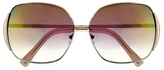 Vince Camuto Mirrored Oversize Sunglasses