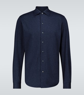 Loro Piana Capri cotton jersey shirt