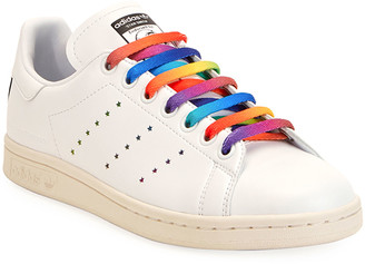 Stella McCartney Stan Smith Sneakers with Rainbow Laces