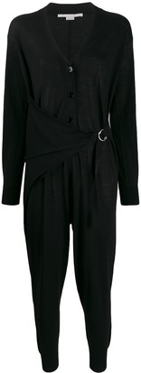 Stella McCartney V-neck long-sleeved jumpsuit