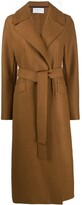 Thumbnail for your product : Harris Wharf London Wrap-Around Virgin-Wool Coat