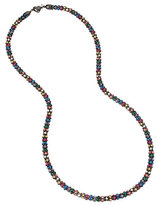 Betsey Johnson Confetti Multi Heart Long Necklace
