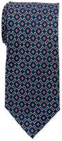 Pierre Cardin Silk Flower Chain Tie