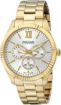 Pulsar Women's PP6140 Business Collection -Tone Stainless Steel Watch