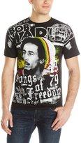 Zion Rootswear Men's Bob Marley Freedom T Shirt