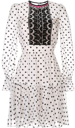 Temperley London Polka Dot Dress