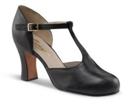 Capezio Closed Toe T-Strap Character Shoe Women's Shoes