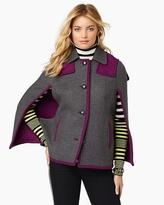 Juicy Couture Wren Plaid Cape