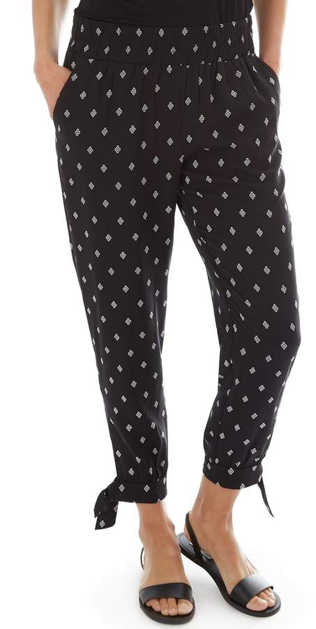 903e31ced3ca1 Women's Challis Pull-On Ankle Pants