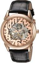 Stuhrling Original Men's 912.03 Classic Rosary Analog Display Automatic Self Wind Black Watch