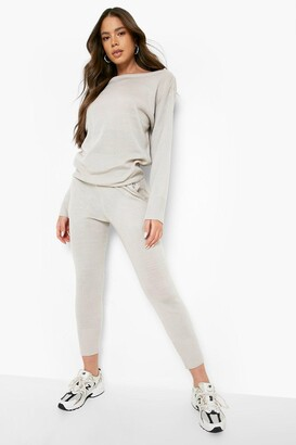 boohoo Boutique Heavy Knitted Tracksuit