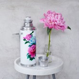 Graham and Green White Floral Thermos Flask