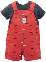 Carter's Baby Boy Tee & Shortall Set