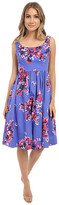 Donna Morgan Sateen Midi Length Tank Dress