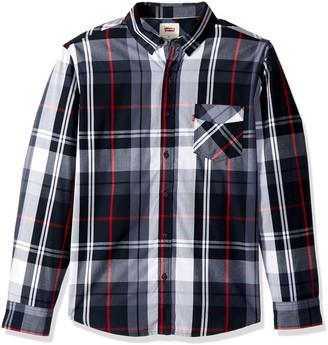 Levi's Men's Amway Plaid Shirt