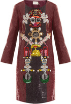 Mary Katrantzou Clocktopia Shift Dress