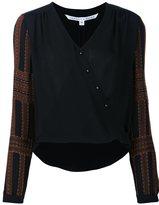 Veronica Beard v-neck blouse