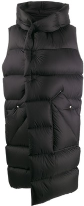 Rick Owens Sleeveless Padded Coat