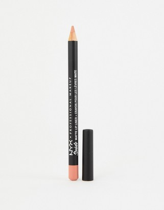 NYX Suede Matte Lip Liners - Fetish