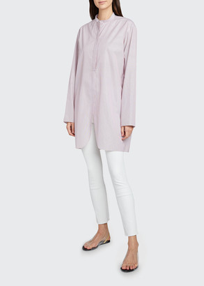 The Row Pana Long Cotton Shirt