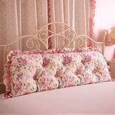 UYSAUDGFE Korean bed big cusion Sofa [cotton] Two-person long pillow Pillow Korean ead back