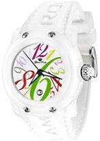 Glam Rock Women's GR25003 Miami Beach White Dial White Silicone Watch