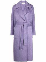 Thumbnail for your product : MICHAEL Michael Kors Belted Single-Breasted Coat