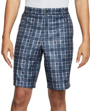 Nike Men's Flex Dri-fit Plaid Golf Shorts