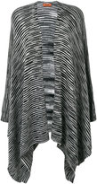 Missoni knitted cape - women - Cotton - One Size