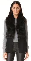 Ramy Brook Felicia Fur Vest