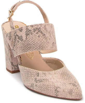 BC Footwear Value Block Vegan Heel