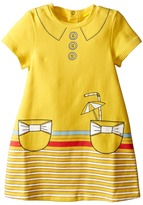 Little Marc Jacobs Dress with Fancy Illustrations Details (Infant)