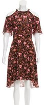 A.L.C. Printed Silk Dress w/ Tags