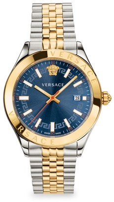Versace Hellenyium Two-Tone Bracelet Watch