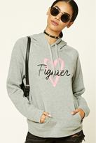 Forever 21 FOREVER 21+ Breast Cancer Awareness Hoodie