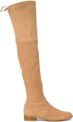 Stuart Weitzman Highland Over-The-Knee Flat Boots