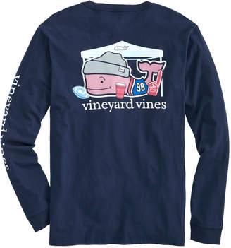 Vineyard Vines Tailgate Whale Long-Sleeve Pocket Tee