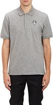 Givenchy Men's Piqué Polo Shirt-LIGHT GREY
