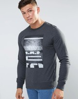Element Print Crew Neck Sweat Sweater