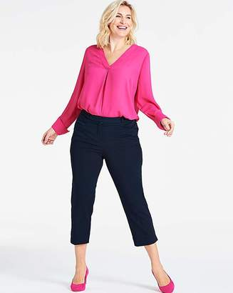 Capsule Navy Meghan Cigarette Trousers