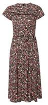 Dorothy Perkins Womens Billie & Blossom Pink Ditsy Floral Print Dress, Pink