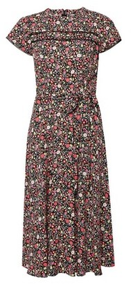Dorothy Perkins Womens Billie & Blossom Pink Ditsy Floral Print Dress, Pink