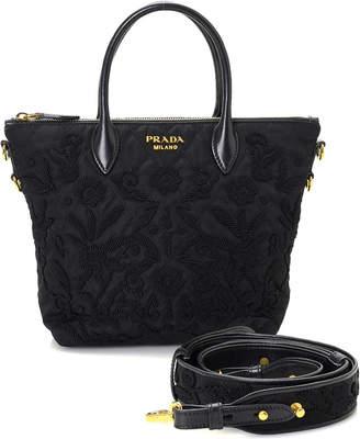 Prada Black Nylon Handbag - Vintage
