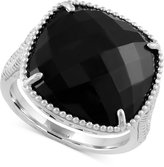 Effy Onyx Drama Ring (6-1/2 ct. t.w.) in Sterling Silver