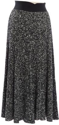 Celine Black Wool Skirts